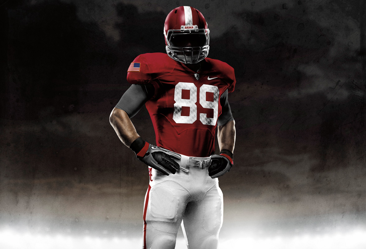 alabama game day jersey