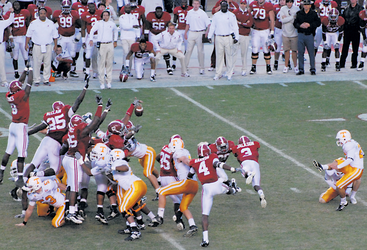 Alabama vs. Tennessee: A rivalry not forgotten