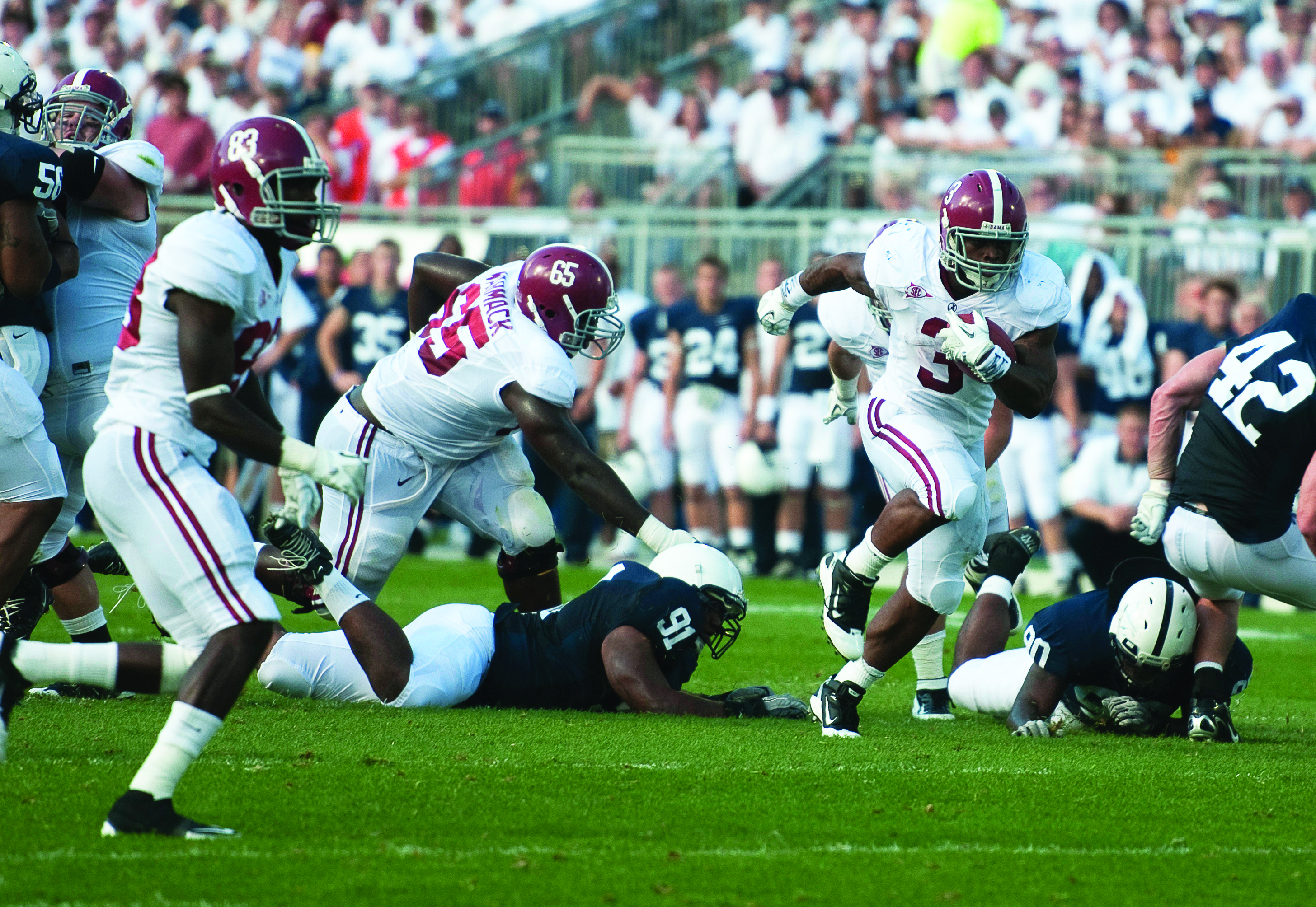 Ground and Pound: Analyzing the Tide running backs