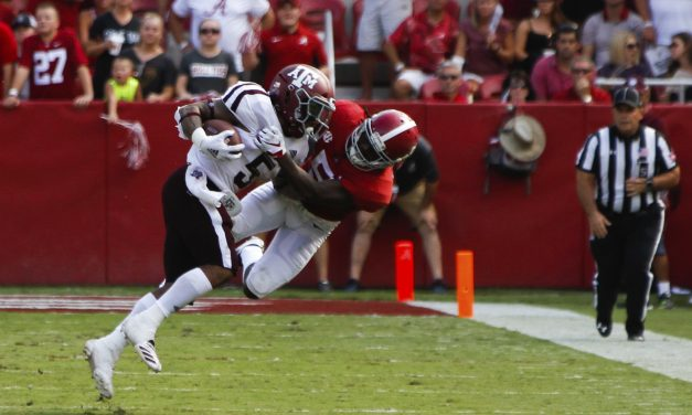 Crimson Tide Takes Down TAMU
