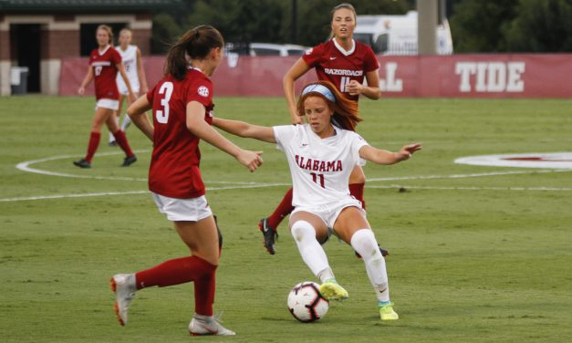 UA Soccer Kicks Off the Spring Season