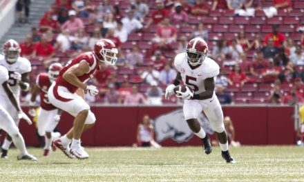 Tua Shines As Tide Crush Razorbacks