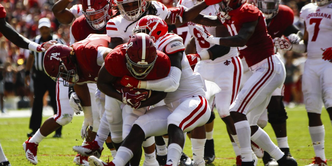 """The Crimson Tide's first """"trap"""" Game Quickly Turning to a """"Flat"""" Game"""