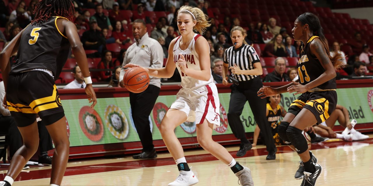 Crimson Tide WBB end two game losing streak