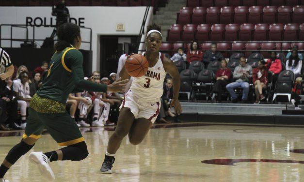 Alabama Women's Basketball Handles Business in Opener