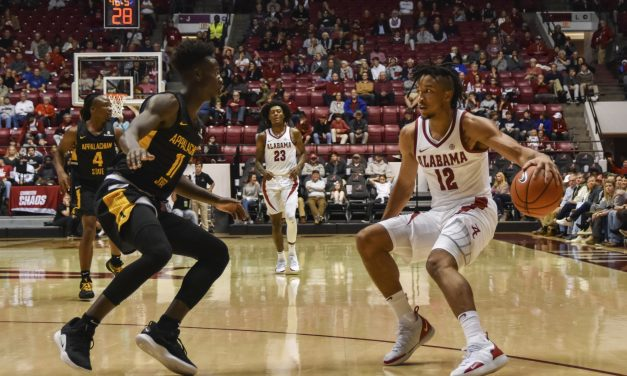 Alabama Defeats Appalachian State as They Improve to 2-0