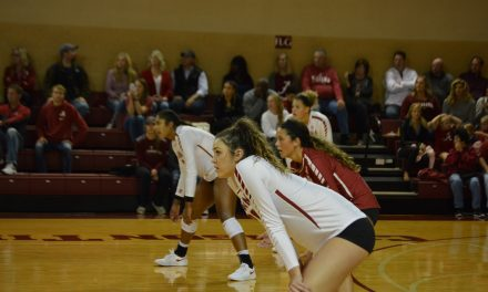 Tide Volleyball Falls to Georgia