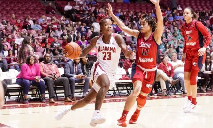 Alabama WBB Drops Third Straight To South Alabama