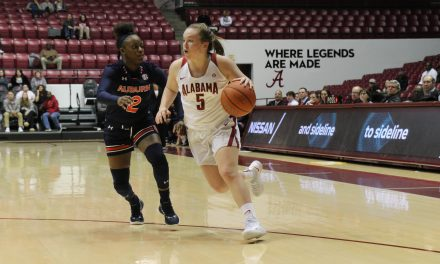 Only 43 Points by Bama in WBB Lone Star Loss