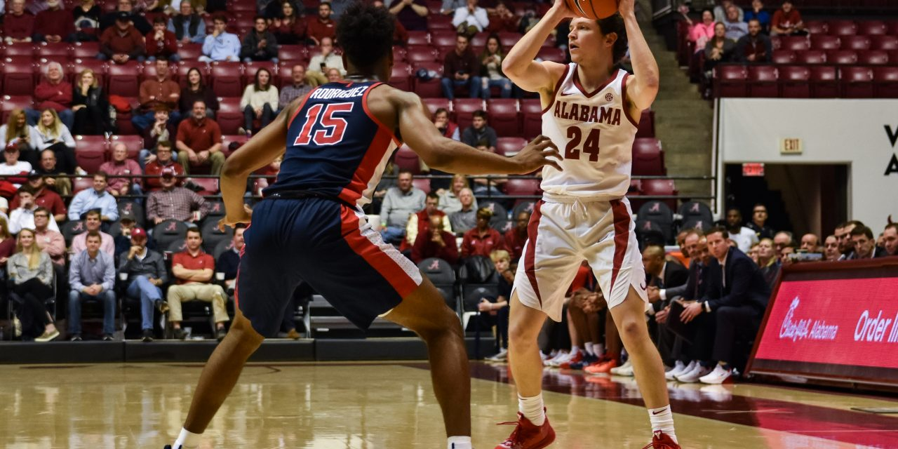 Alabama Men's Basketball Wins Big Over No. 20 Ole Miss