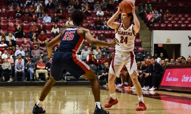 Alabama Men's Basketball Wins Big Over No. 20 Ole Miss