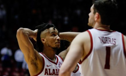 Alabama Men's Basketball Comes Up Short Against Texas A&M