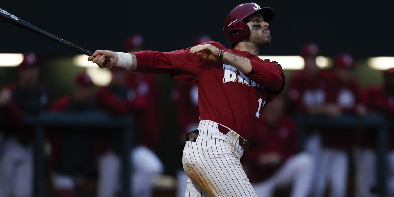 Crimson Tide Split the Double-Header With Presbyterian