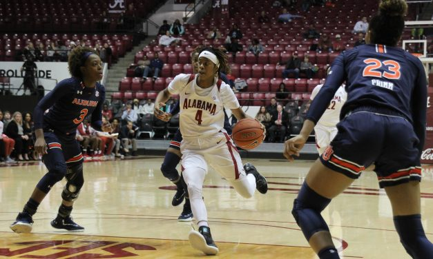 ALABAMA WBB CLOSES OUT SEASON IN RIVALRY LOSS