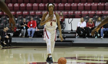 ALABAMA WBB ANCHORS DOWN IN ROUND ONE OF SEC TOURNAMENT