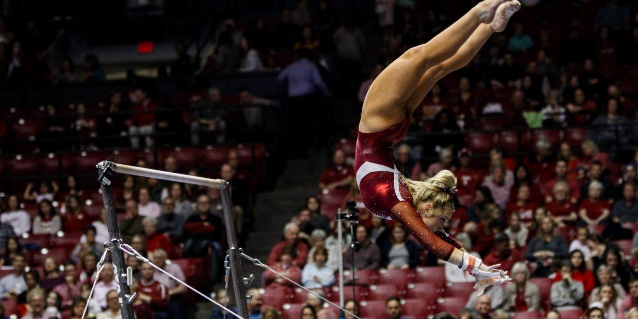 Alabama Gymnastics Honor Senior With Win Over Auburn
