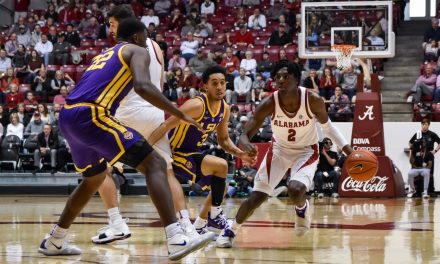 Crimson Tide Fall Short to LSU
