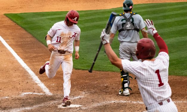 The Crimson Tide Rally to Win in the 11th Inning
