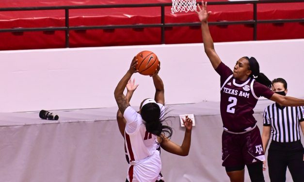 The Tide Come Up Short to the Fighting Aggies