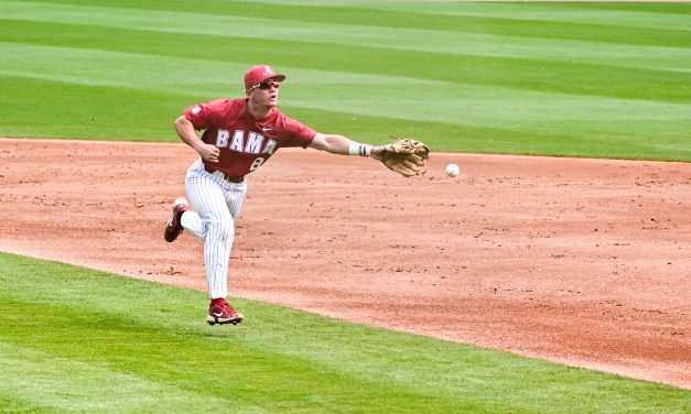The Crimson Tide Fall to the Wildcats in the First Game of a Double Header
